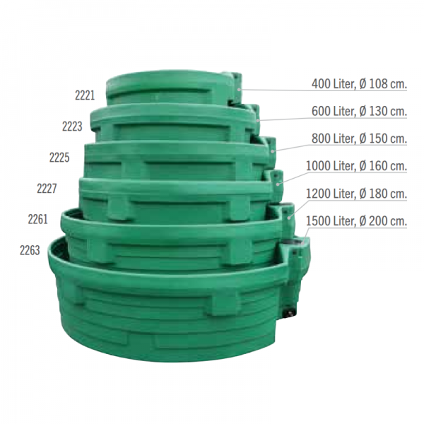 Weidetränke PREBAC 400L bis 1500L 02